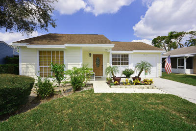 Boynton Beach Single Family Home For Sale: 9120 Chrysanthemum Drive