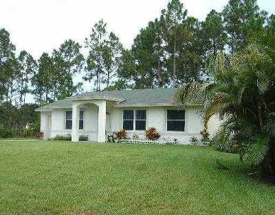 West Palm Beach Single Family Home For Sale: 14652 99th Street