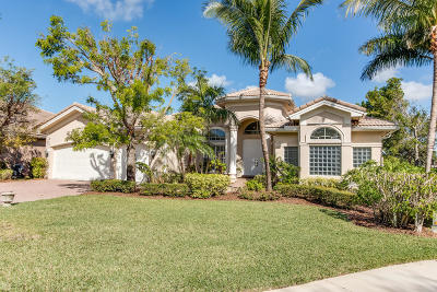 Boynton Beach Single Family Home For Sale: 8658 Yellow Rose Court