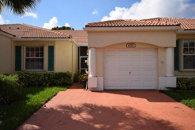 Delray Beach FL Single Family Home For Sale: $249,900