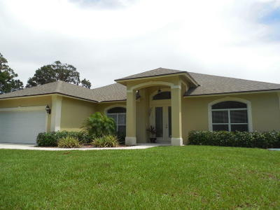 Port Saint Lucie, Saint Lucie West Single Family Home For Sale: 2549 SW Independence Road
