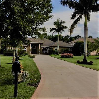 Port Saint Lucie, Saint Lucie West Single Family Home For Sale: 164 SE Osprey Ridge