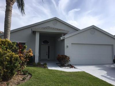 Jupiter Single Family Home For Sale: 6086 Mullin Street