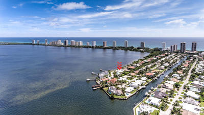 Singer Island Single Family Home For Sale: 1041 Pine Point Road