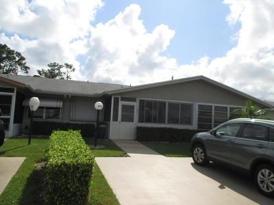 West Palm Beach Single Family Home For Sale: 3472 Americo Drive