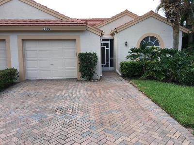 Delray Beach Single Family Home For Sale: 7590 Diamond Pointe Circle