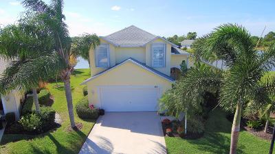 Port Saint Lucie, Saint Lucie West Single Family Home For Sale: 483 SW Sundance Trail
