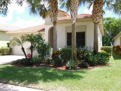 Delray Beach Single Family Home For Sale: 9703 Isles Cay Drive