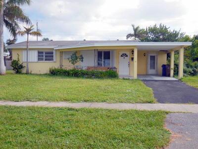 Deerfield Beach Single Family Home For Sale: 1004 SE 14th Street