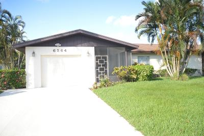 Delray Beach FL Single Family Home For Sale: $225,000