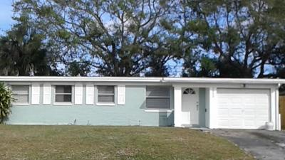 Single Family Home For Sale: 3853 Everglades Road