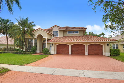 Boca Raton Single Family Home For Sale: 10752 Maple Chase Drive