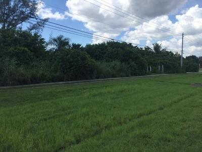 Lake Worth Residential Lots & Land Contingent: 5563 S State 7
