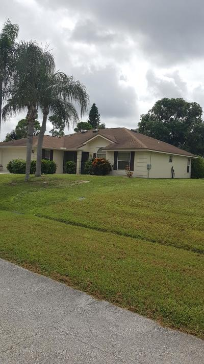 Port Saint Lucie, Saint Lucie West Single Family Home For Sale: 230 SE Volkerts Terrace