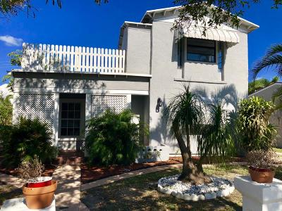 West Palm Beach Single Family Home For Sale: 427 Maddock Street