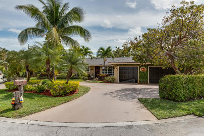 Single Family Home For Sale: 3650 Palm Drive