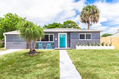 West Palm Beach Single Family Home For Sale: 349 Arlington Road