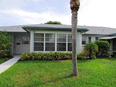 Delray Beach Single Family Home For Sale: 1157 S Drive Circle #B