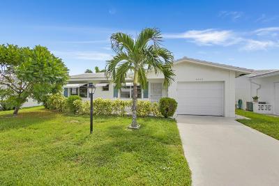 Boynton Beach FL Single Family Home For Sale: $220,000