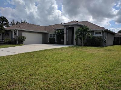 Port Saint Lucie, Saint Lucie West Single Family Home For Sale: 2550 SW Cooper Lane