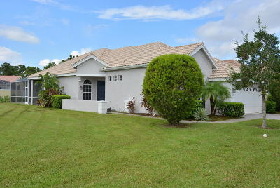 Port Saint Lucie, Saint Lucie West Single Family Home For Sale: 639 SW Andros Circle
