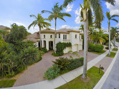 Palm Beach Gardens Single Family Home For Sale: 134 Via Verde Way