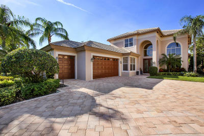 Palm Beach Gardens Single Family Home For Sale: 3659 Toulouse Drive