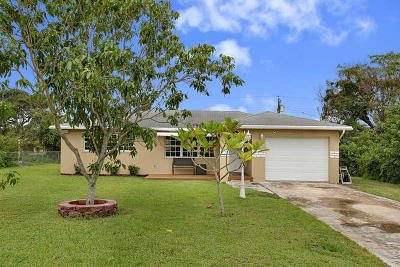 Lake Worth Single Family Home For Sale: 6585 Osborne Drive