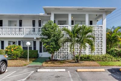 Delray Beach Condo For Sale: 2710 SW 15th Street #104