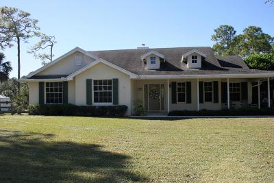 Loxahatchee Single Family Home For Sale: 7967 Mandarin Boulevard