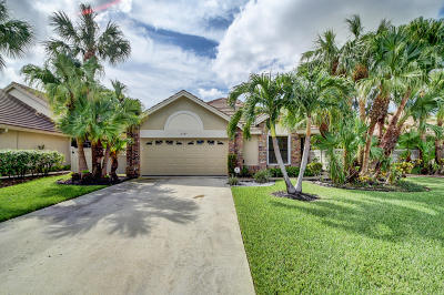 Boynton Beach Single Family Home For Sale: 6787 Bitterbush Place