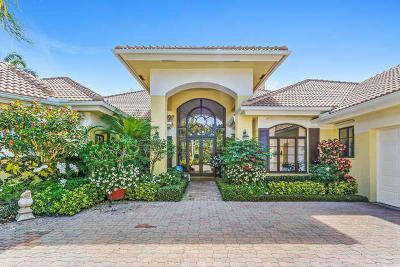 Palm Beach Gardens Single Family Home For Sale: 13767 Le Bateau Lane