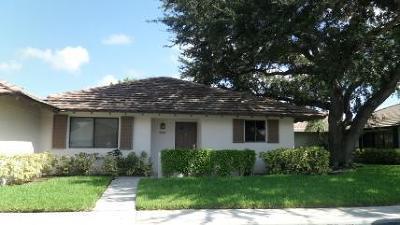 Palm Beach Gardens Rental For Rent: 228 Club Drive #228