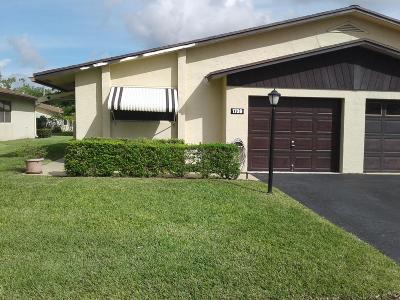 Boynton Beach Single Family Home For Sale: 1739 Palmland Drive #8b