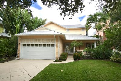 Tequesta Single Family Home Contingent: 104 Intracoastal Circle