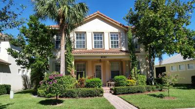 Palm Beach Gardens Single Family Home For Sale: 8093 Bautista Way