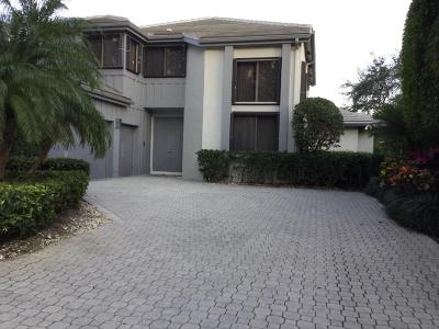 Palm Beach Gardens Single Family Home For Sale: 13860 Degas Drive E