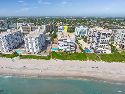 Highland Beach Condo For Sale: 3211 S Ocean Boulevard #503
