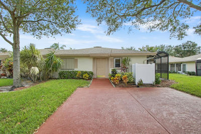 Boca Raton Single Family Home For Sale: 18722 Candlewick Drive
