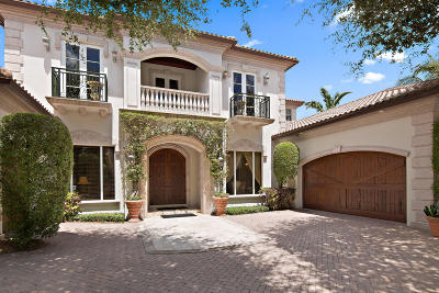 Palm Beach Gardens Single Family Home For Sale: 117 Via Capri