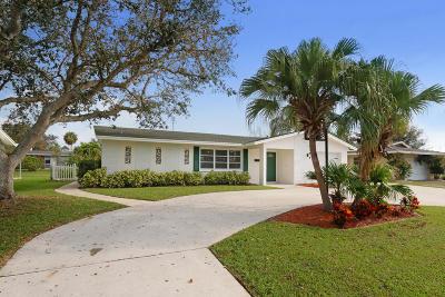 Palm Beach Gardens FL Single Family Home For Sale: $344,900
