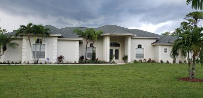 Loxahatchee Single Family Home For Sale: 17929 Key Lime Boulevard