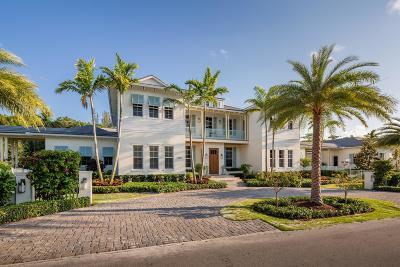 Gulf Stream, Ocean Ridge Single Family Home For Sale: 1224 Ocean Boulevard