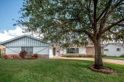 Palm Beach Gardens Single Family Home Contingent: 10148 Dasheen Avenue