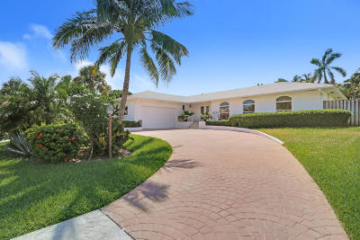 Jupiter Inlet Colony Single Family Home For Sale: 139 Beacon Lane