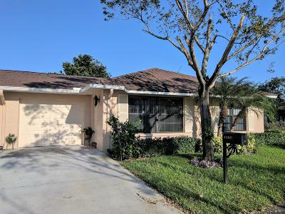 Boynton Beach Single Family Home For Sale: 4285 Mango Tree Court #B