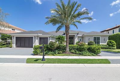 Palm Beach Gardens Single Family Home For Sale: 647 Hermitage Circle