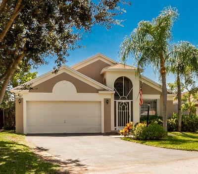 Boynton Beach Single Family Home For Sale: 20 Swallow Drive