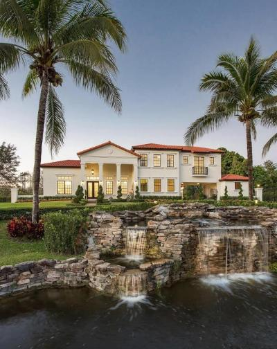 Broward County, Palm Beach County Single Family Home For Sale: 13101 Mustang Trail