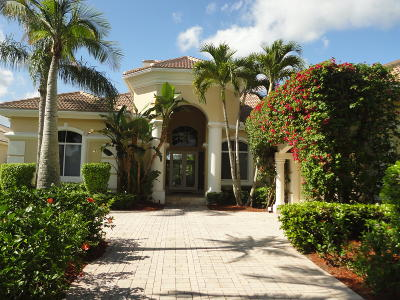 West Palm Beach Single Family Home For Sale: 9066 Lakes Boulevard